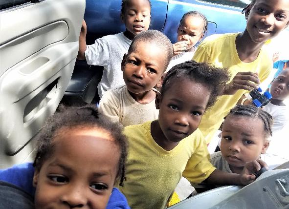 Back in Haiti