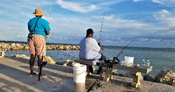 Fishing, Faith, and Hunger